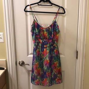Shoshanna silk sun dress